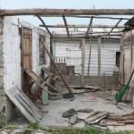 Zerstörtes Haus in Consolation