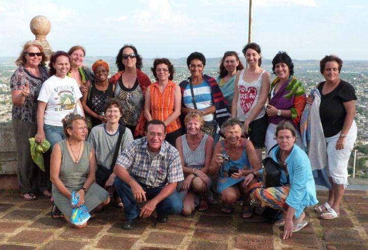 Gruppenfoto der Teilnehmer_innen