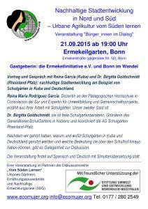 Nachhaltige Stadtentwicklung-Bonn